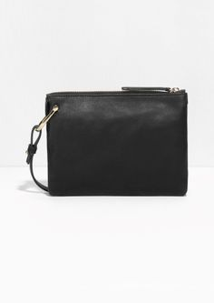 & Other Stories image 1 of D-Ring Crossbody Bag in Black