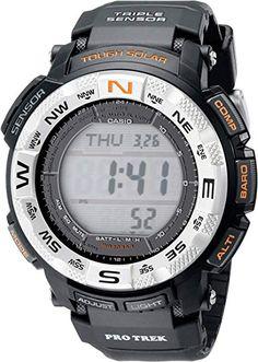 45b1c7b673b6 Amazon.com  Casio De los hombres PRG260 – 1 Pro-Trek Reloj con