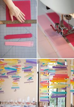 DIY paper mobiles by coco+kelley, via Flickr