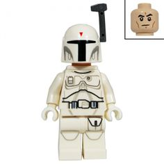 White Boba Fett Star Wars LEGO Minifigure