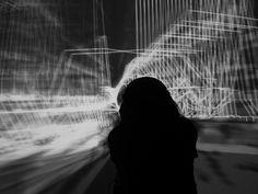 Qi Visualizer installation @ L.A.S.T. Festival, ZERO1 Garage, San Jose, 2014
