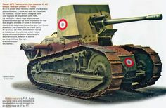 Light french tank destroyer