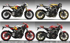 Nouveauté moto : une Yamaha MT-09 néo-rétro pour 2016 ? - YAMAHA Nouveautés 2016 moto