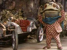 Maggie talks like Toad. She used to drive like him too.