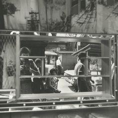 Vivian Maier - Self-portrait, Halsted Street, Chicago, August 25, 1961