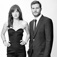 Photoshoot Oficial de Dakota Johnson y Jamie Dornan (2) | 50 Sombras Spain