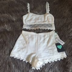 Kendall & Kylie two piece set BRAND NEW - top XS - shorts S Kendall & Kylie Other