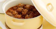 Porcupine meatballs Mince Recipes, Beef Recipes, Dog Food Recipes, Cooking Recipes, Dishes Recipes, Batch Cooking, Easy Recipes, Recipies, Porcupine Meatballs