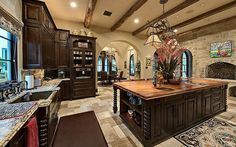 [divide] Location:8802 Memorial Drive,Houston, TX Square Footage: 9,768 Bedrooms & Bathrooms: 5 bedrooms & 7 bathrooms Price: $8,950,000 ($7,950,000 in 2012) This Mediterranean style mansion is located at8802 Memorial Drive inHouston, TX and is situated on an acre of land. It