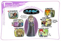 Pocket Princesses 236: Meet Leia Please reblog, don't repost, edit or remove captions Facebook - Instagram