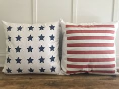 American Flag Pillow Cover (Set of 2)