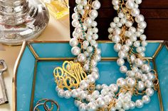 #SouthernCharm Tip #9: Every Southern Girl Should Have Pearls Galore