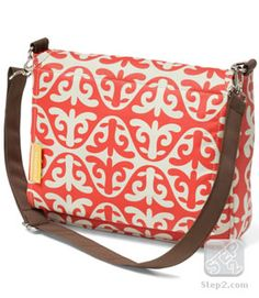 Who knew Step 2 had such cute little diaper bags? $22.99