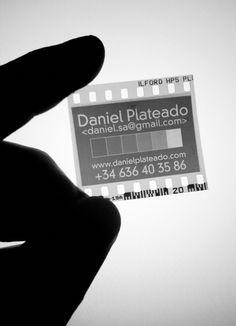 Tarjeta de presentación- Fotografía.