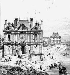 La porte de la Conférence au XVIIème siècle.
