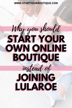 If you are a LuLaRoe retailer you don't own or control anything. LuLaRoe sets the terms and restrictions on what you must do to stay in good standing.If you had your own online boutique, you'd be able to make decisions that help YOUR bottomline. Plus getting your initial investment for LuLaRoe can cost anywhere from $5,500 to $7,000— then you'll still need to get supplies such as hangers, storage, etc. Starting your own online boutique can cost significantly less. Learn more by reading the blog. Make More Money, Make Money From Home, Make Money Online, Boutique Names, Boutique Ideas, Join Lularoe, Email Marketing Strategy, Business Marketing, Starting An Online Boutique