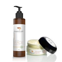 Our Acne/Sensitive Skin Moisturizer and Face Wash clears you skin by killing bacteria without drying your face out. You see you do not need to put harsh chemicals on your face that can ruin your skin and make you age quicker! At Painted Earth You. Can expect NO MORE HARSH CHEMICALS !!! Natural Acne solution will purify skin and provide extreme antioxidant benefits.   Helps to clear up breakouts associated with acne-prone skin.  It does not contain any harsh ingredients such as salicylic acid