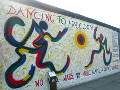 Dancing to Freedom, East Side Gallery, Berlin Wall