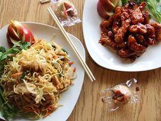 Happy Jing celebrates American-Chinese food in Salem, Oregon.
