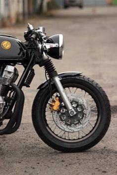 Seven Fifty cafe-racer. Cb 750 Seven Fifty, Cb750 Cafe Racer, Honda Cb, Front Brakes, Yamaha, Garage, Motorcycle, Bike, Ebay
