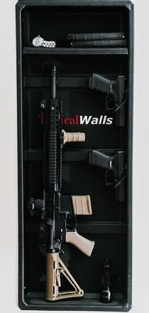 Wall insert - Hide your guns in the wall behind  mirror.
