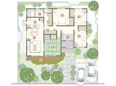 HIRAYA 代表プラン Japanese ジャパニーズ|MJウッド|ミサワホームの耐震木造住宅
