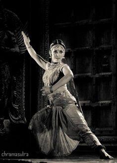 Indian Bharatanatyam dancer Rukmini Vijayakumar
