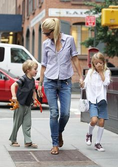 Gwyneth is, by far, one of the most stylish moms on the planet!