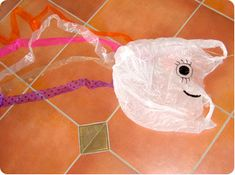 Encourage your kids to get off the couch and have a good run around with their new homemade kite.