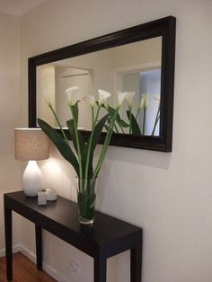 Amazing Modern Mirror Ideas For Your Home Deco. - Amazing Modern Mirror Ideas For Your Home Deco. Home Interior Design, Room Decor, Decor, House Interior, Home Living Room, Apartment Decor, Foyer Decorating, Living Room Decor Apartment, Hall Decor