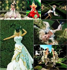 "Gwen Stefani ""What you Waiting for"" - it's my favorite music video because it is Alice In Wonderland inspired!"