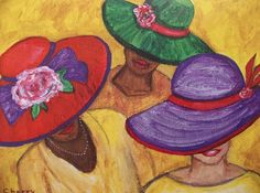 All About Hats Painting