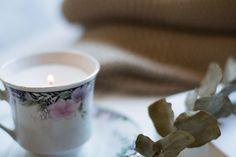 Cómo hacer velas diy : via La Chimenea de las Hadas