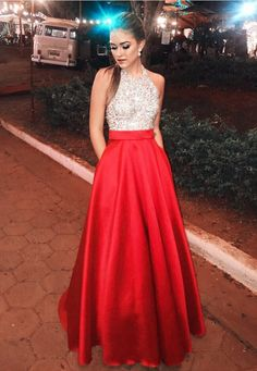 2491f09916d you will never go wrong with this red satin ball gowns prom dress,it dress