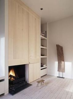 Belgian designed fireplace