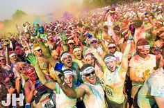 Happy Color Runners!