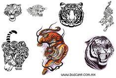 Resultado de imagen para tigre de bengala tattoo design