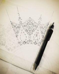 Islamic Art Pattern, Pattern Art, Illumination Art, Arabesque Pattern, Fashion Design For Kids, Turkish Art, Embroidery Motifs, Arabic Art, Islamic Art Calligraphy