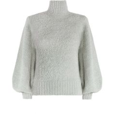 ZIMMERMANN Karmic Slouch Poloneck (4,205 CNY) ❤ liked on Polyvore featuring tops, blouson top, turtle neck top, zimmermann, turtleneck tops and slouchy tops