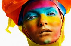 love is all 50 Shades, Shades Of Blue, Saturated Color, Over The Rainbow, Love Is All, Creative Photography, Hair Makeup, Movie Posters, Art