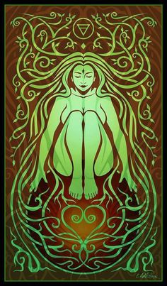 Shop for pagan art from the world's greatest living artists. All pagan artwork ships within 48 hours and includes a money-back guarantee. Choose your favorite pagan designs and purchase them as wall art, home decor, phone cases, tote bags, and more! Fantasy Kunst, Fantasy Art, Pagan Art, Earth Spirit, Spirited Art, Sacred Feminine, Gods And Goddesses, Book Of Shadows, Art Plastique