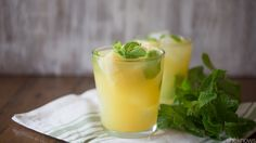 If a margarita and a mojito had a baby, it would be this luscious pineapple-mint tequila cocktail
