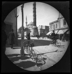Have you ever heard the names William Sachtleben and Thomas Allen Jr. They were two young American graduates who, in June embarked on a journey to Turu, Urban Architecture, Cycling Art, Historical Pictures, Old City, Once Upon A Time, Istanbul, Old Photos, City Photo