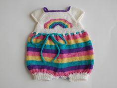 Rainbow Molly Bubble Romper