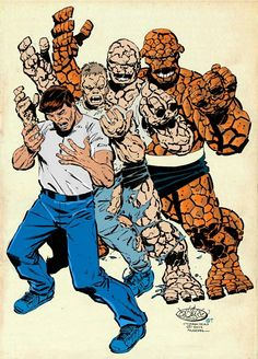 The Thing / Ben Grimm by John Byrne