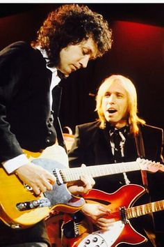 Mike Campbell of the Heartbreakers on a Tele