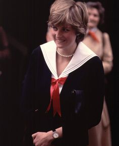 March 27, 1981 - Prince Charles and Lady Diana Spencer visited the policemen who'll guard their future home in Gloucestershire.