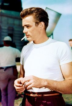 James Dean at Griffith Park Observatory in Los Angeles, 1955.