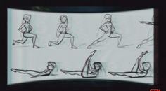 """mooncactus: """"Some Glen Keane drawings I havent really seen around from this video. """""""