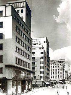 Strada Campineanu (Regla) across Calea Victoriei, late Little Paris, Bucharest Romania, Time Travel, Dan, Buildings, Times, Pictures, Bucharest, Photos